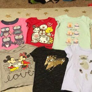3t/4t T-shirt set